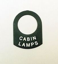 CABIN LAMPS Land Rover Classic BOAT YACHT CABIN lucas switch tag