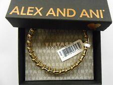 Alex and Ani Gypsy 66 Wrap Bracelet Rafaelian Gold Finish With Box and Card