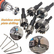 5Pcs HSS Drill Bit Hole Saw Set Stainless Steel Alloy Wood Hole Cutter HOT NE