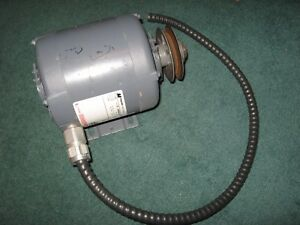 Motor AC .5HP 575VAC 1725-RPM Magnetek Century H957 8-140306-02 - USED