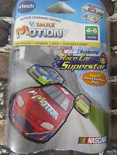 V Smile Motion NASCAR ACADEMY Race Car Superstar V Tech  4-6 Years ~ NEW