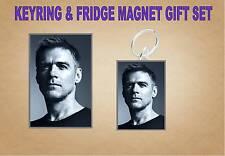 BRYAN ADAMS Key Ring & Fridge Magnet Set