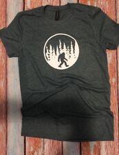 T shirts custom t shirts Bigfoot shirt soft shirt gift ideas Sasquatch fast ship