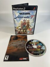 Wild Arms: Alter Code F (PS2 PlayStation 2) Bonus DVD and Case/Manual ONLY