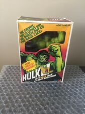 Vintage 1978 Marvel Comics The Incredible Hulk -Rage Cage Figure Fun Stuf Remco
