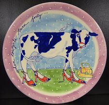 Diane When Cowgirls Turn 40 Hanging Decorative Wall Plate Platter Decor