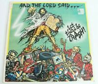 The Cannibals - And The Lord Said... Let There Be Trash  - LP Vinyl LTD Yellow