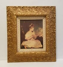 Vintage Picture Photo Art Frame Ornate Gold Syroco Type