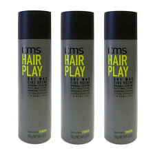 KMS Hair Play Dry Wax 4.3oz 124g  (pack of 3)  *NEW*