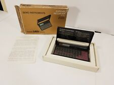Vtg Hand Held Electronics Seiko Instruments Expense Recorder Pocket Size