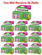 40 Rolls Fuji 200 35mm Film 4pk CA 135-24 Exp Fuji Camera Wholesale 02/2017
