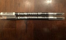 Eylure Firm Texture Brow Pencil - Black No. 00 New Set Of 2 Brand New Lot