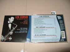 Lem Johnson The Complete Lem Johnson 1940-1953 cd 1996) cd Is Ex / Book Is Vg