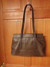 SAZABY Handbag Shoulder Bag Nylon Brown Authentic Made in Japan Excellent