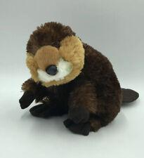 "Aurora World Plush Brown Beaver Stuffed Animal  8"""