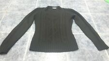 Women black knitted sweater/ jumper size S by Yessica at C&A