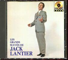 JACK LANTIER - LES GRANDS SUCCES DE JACK LANTIER - BEST OF CD ALBUM [450]