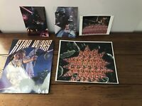 Star Wars The Empire Strikes Back 1993 Vintage Postcards Lot Luke Leia Classico