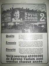 Other Breweriana Publicite Advertising 066 1958 Le Savon Cadum Rose Ou Doré Collectibles