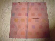 tissu french textile coupon Tassinari et Chatel soie sauvage carré lyon