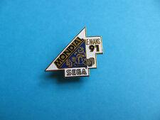 Sega Games Pin badge, VGC. Mondial Le Mans 91. Enamel.