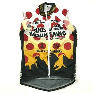 NEW Voler King Of The Mountains Cycle Jacket Vest Size Extra Small Windbreaker
