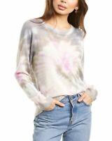 White + Warren Tie-Dye Cashmere Sweater Women's