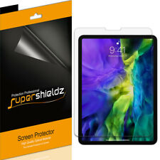 3X SuperShieldz Clear Screen Protector for Apple iPad Pro 11 inch (2020 / 2018)
