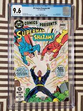 DC Comics Presents #49 CGC 9.6 Shazam Black Adam Superman Captain Marvel