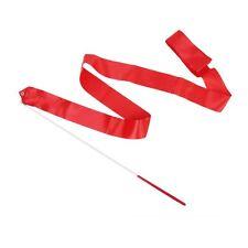 Dance Ribbon Rhythmic Gymnastics Streamer Rod  Twirling Party Chinese New Y I3T8