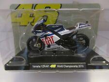 MOTO VALENTINO ROSSI 1/18 #46 YAMAHA YZR-M1 WORLD CHAMPIONSHIP 2010 COLL.EDICOLA