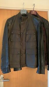 Belstaff Rothbury Waxed Cotton & Leather Jacket EU50 UK40