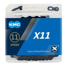 KMC X11 Chain - 11 Speed - 116 Links - Black