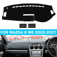 Car Dashmat Dashboard Carpet Sun Cover Dash Mat Pad For Mazda 6 M6 2002-2007