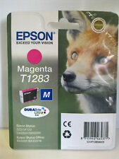 EPSON STYLUS SX130/SX235W ORIGINAL T1283 FOX MAGENTA (RED) INK CARTRIDGE