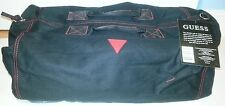 GUESS BLACK TRAVEL DUFFLE/GYM BAG NWT - Denim