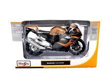 MAISTO 2006 SUZUKI GSX R1000 GOLD Motorcycles 1/12