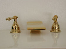 AllBrass Sink Waterfall match our Tub Waterfalls PVD Gold Brass Free Ship 826P3