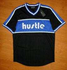 New listing NWT New Rebel Minds Hustle Men's Black Blue Streetwear T-Shirt Jersey Size XL