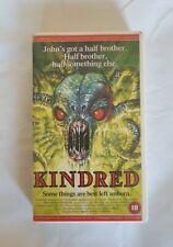 Kindred VHS RARE