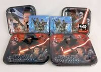 Star Wars The Force Awakens Birthday Party Supplies Lot 32 Plates Napkins NEW
