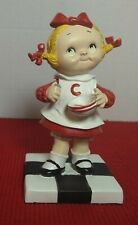 "Collectible Campbell's Soup Campbell's Kids Danbury Mint ""Soup's On"" Figurine"