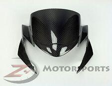 2011-2013 GSR750 GSR 750 Upper Front Nose Headlight Cowling Fairing Carbon Fiber