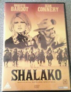 SHALAKO*DVD*BRIGITTE BARDOT*SEAN CONNERY*CLASSIC FILM*RATED PG