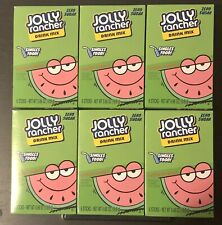 6 Boxes/36 Servings JOLLY RANCHER WATERMELON Singles To Go Water Drink Mix