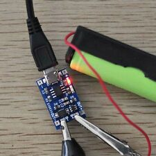 1Pcs Micro USB 18650 Lithium Battery Charging Board Charger + Protection Module