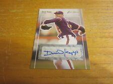 David Kopp Signed 2007 Just Rookies Autographs #30 Card MLB St. Louis Cardinals