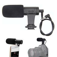 3.5mm Shotgun Camera Microphone Recording Video for Dslr Smartphone Camcorder