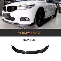 Carbon Spoilerlippe Frontlippe Spoilerschwert für BMW F34 3er GT M-Paket 2013-19