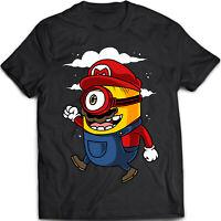 Super Minion - Mario / Minion Parody - Men's Women's Unisex - T Shirt (S-5XL)